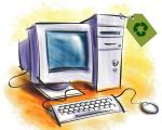 Why is it important to recycle your computer hardware and peripherals?
