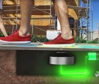 Solar street lights and kinetic energy: the new street lamps powered by people's steps