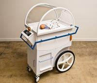 Incubator built with car parts to guarantee a future to developing Countries babies