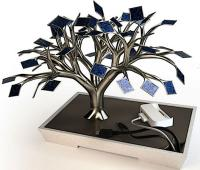 "Educate citizen to the energy efficiency by solar ""trees"""