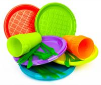 Stop the plastic in disposable tableware from 2020 in France and green light for the eco-friendly materials