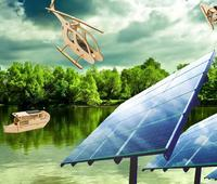 Photovoltaic games, solar gadgets, office and fashion