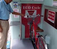 Parcheggio bici verticale: dal Giappone ECO cycle è la rivoluzione del bike parking