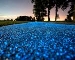 Come funziona la nuova pista ciclabile ad energia solare a base di fosforo