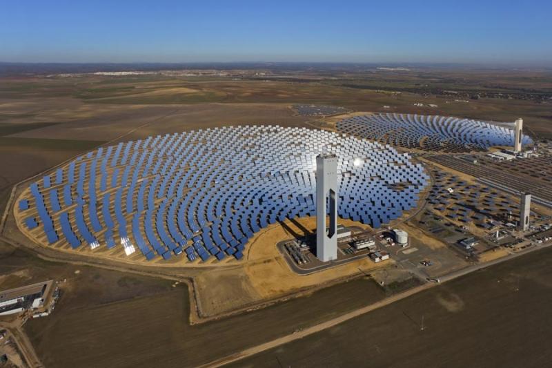 Argo marocco la centrale solare termica pi grande al mondo sta per entrare in azione - Centrale solare a specchi ...