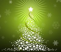 Energia pulita: l'albero di Natale ecologico più grande al mondo