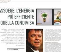 Efficienza energetica ed EGE nell'intervista al vicepresidente di AssoEgE, Andre Tomiozzo