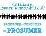 Comuni rinnovabili 2017 e efficienza energetica: i cittadini italiani sempre più prosumer
