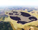 Energia solare ed efficienza energetica in Cina con il primo impianto a forma di panda