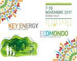 Efficienza energetica a Key Energy 2017 e gestione dei rifiuti ad Ecomondo 2017 a Rimini