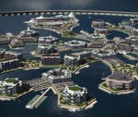 Città galleggiante Seasteading pronta nel 2020