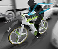 Air Purifier biking, the ecological smog-eating bicycle