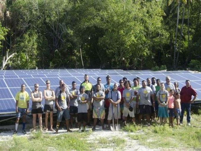 Solar energy at 100% at Tokelau