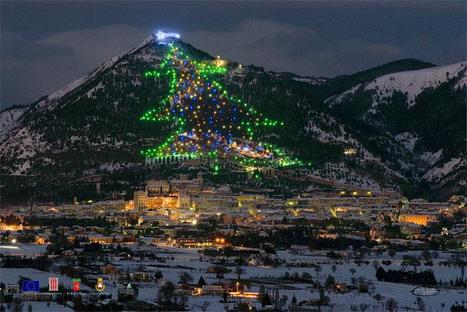 The highest and ecologica CHristmas tree stays in Italy
