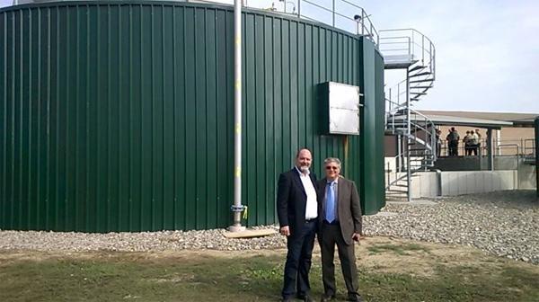 Primo impianto biogas bi stadio è made in Italy