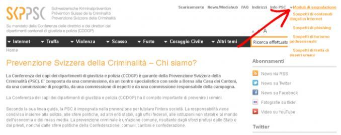 PSC Prevenzione Svizzera della Criminalità