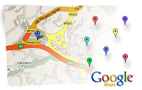 google maps marketing online technical services company web communications verona