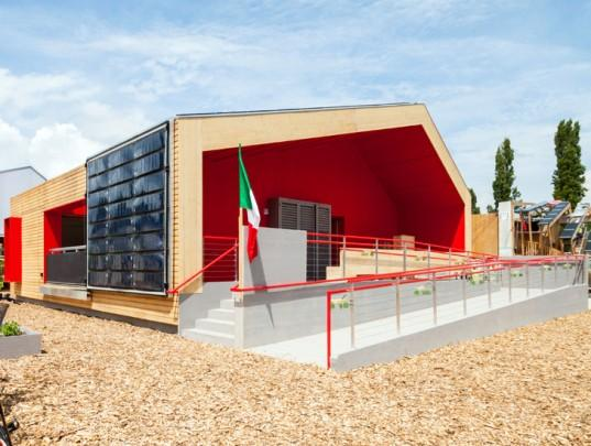 Solar Decathlon 2014: Italian winner in green building design