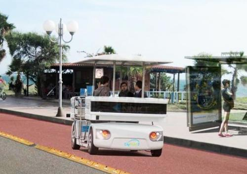 Citymobil 2 public transport systems with electric road vehicles without drivers