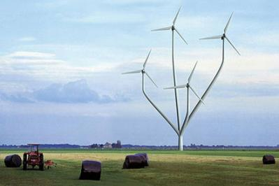 Wind power plant in Messico