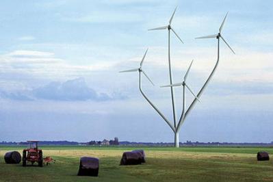 Impianto eolico in Messico