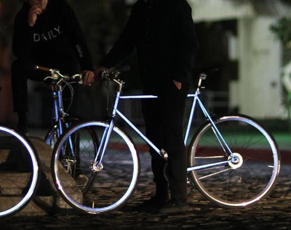 Lumen: la bici 100% retro-riflettente