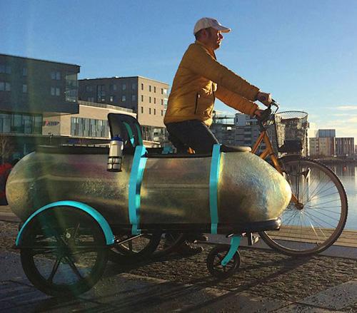 SideBuddy: il sidecar multifunzione per le bici
