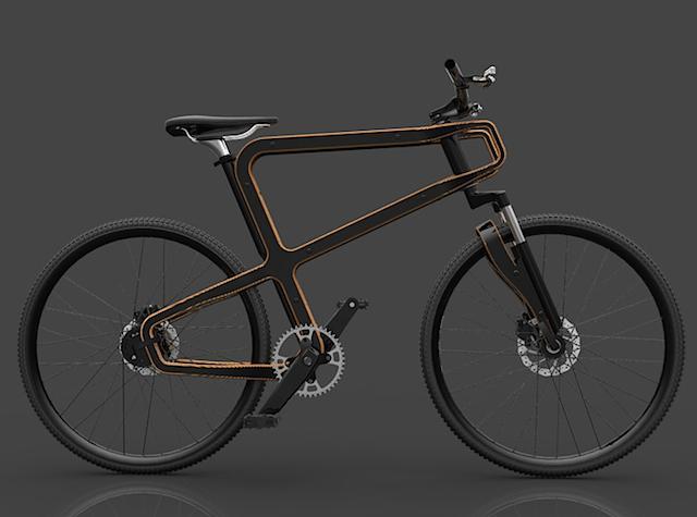 Boske: la bicicletta sostenibile in legno e lattine riciclate