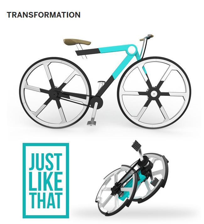 Zed'O: la bici pieghevole in uno zaino