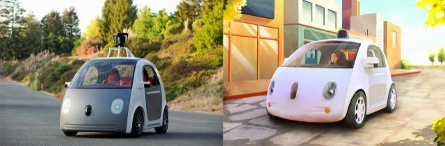 More road safety with the new electric car Google